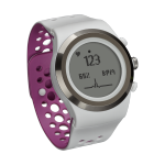 Brite R450 Heart Rate Reading Screen (White/Orchid)