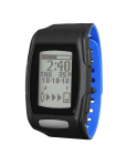 Zone C410 (Midnight Black/Blizzard Blue): Hourly & Syncing Screen